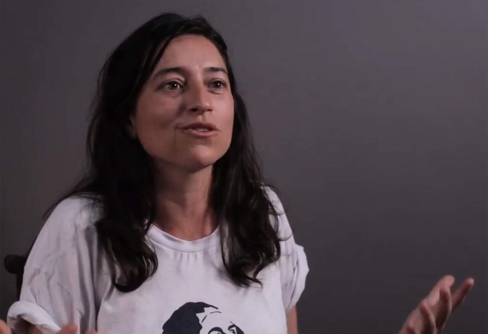 Janaína Macruz - co-fundadora do Circuito Urbano de Arte (CURA)