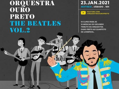 Lançamento virtual DVD Orquestra Ouro Preto - The Beatles Vol. 2
